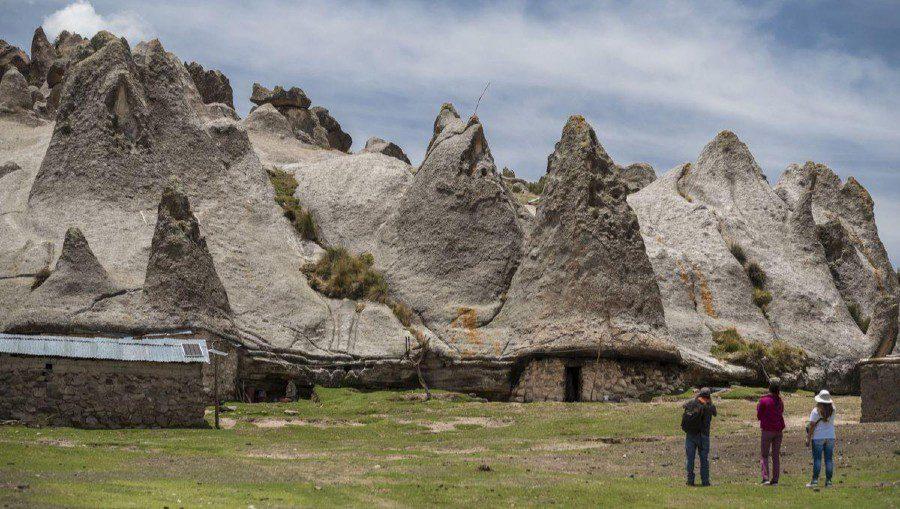rock formations Pampachiri