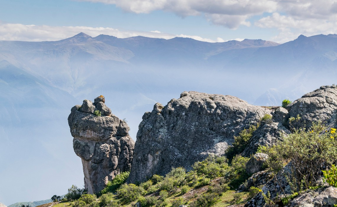 Marcahuasi Lima Andean plateau