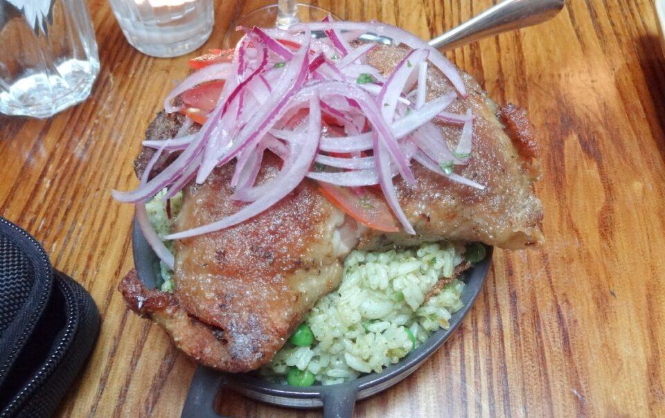 Peruvian dishes Trujillo Moche Route