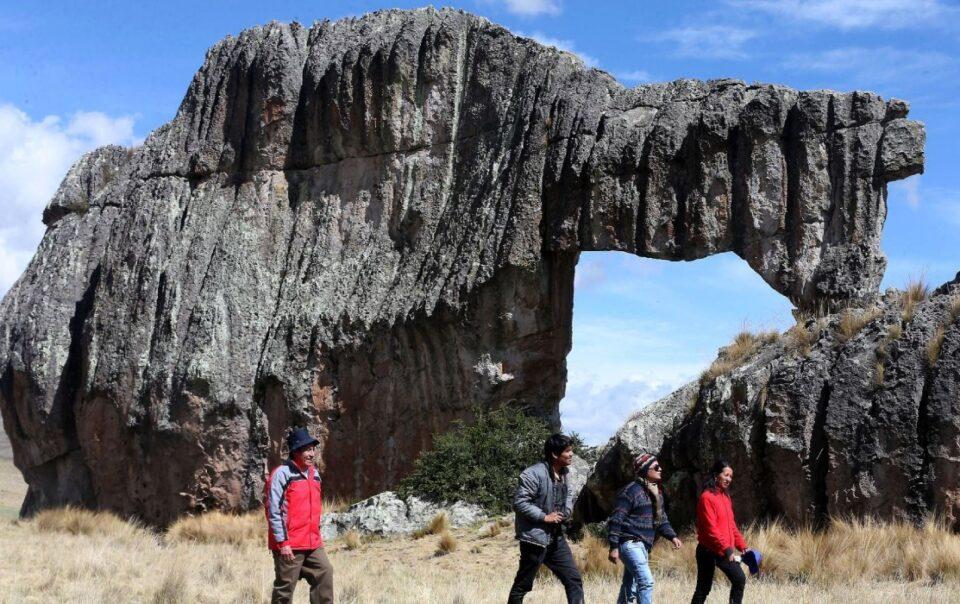 Huayllay festival rock forest
