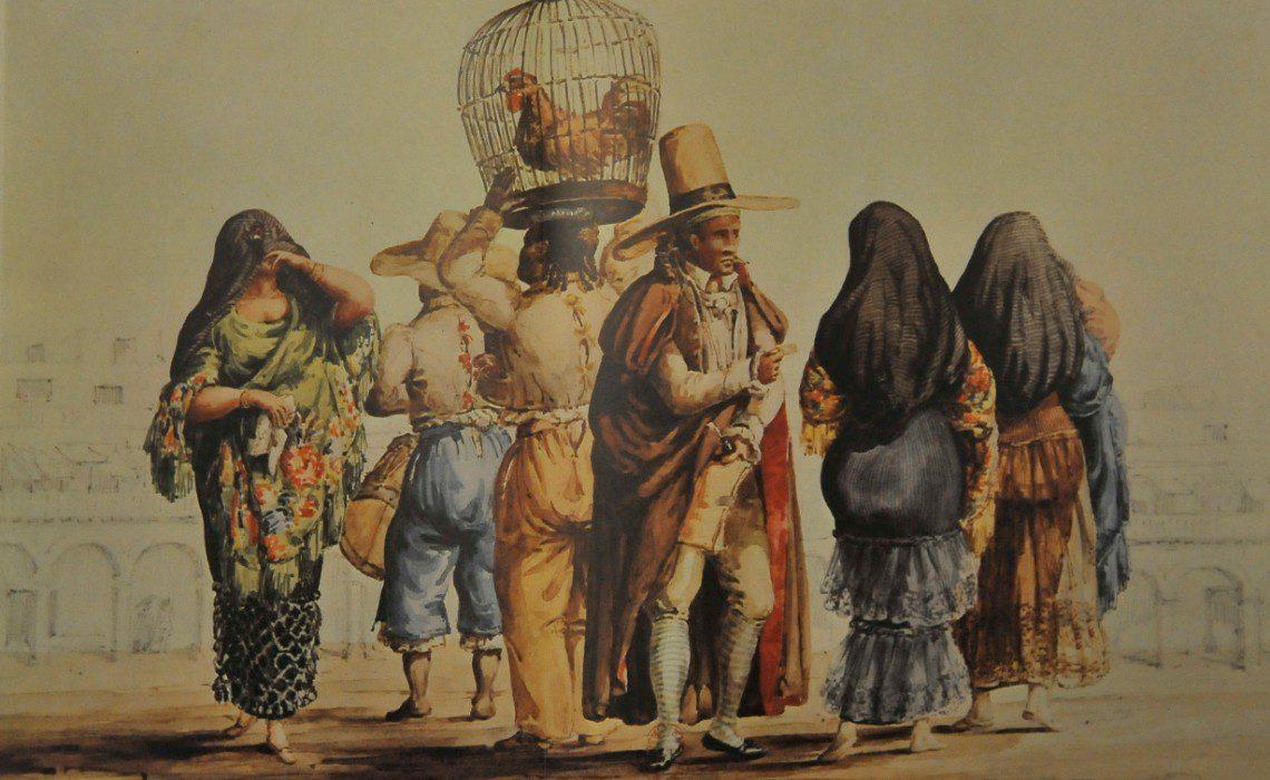 tapadas limeñas veiled women in Lima