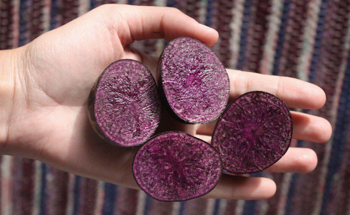 Peruvian purple foods potatoes