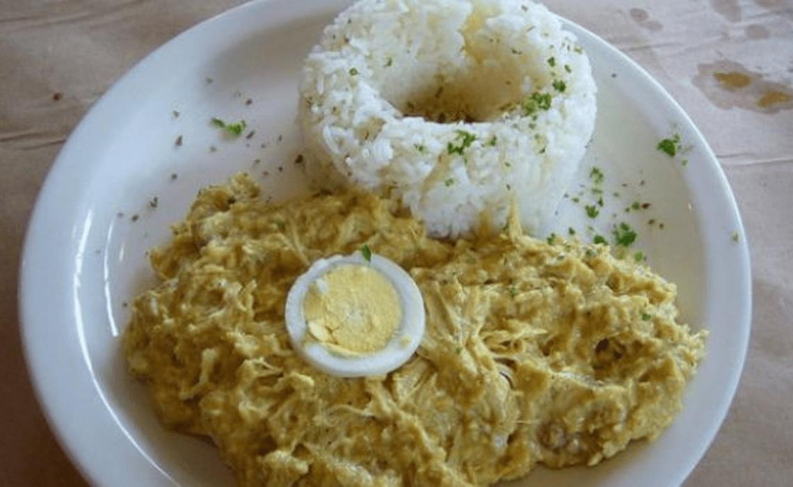 ají de gallina peruvian dishes