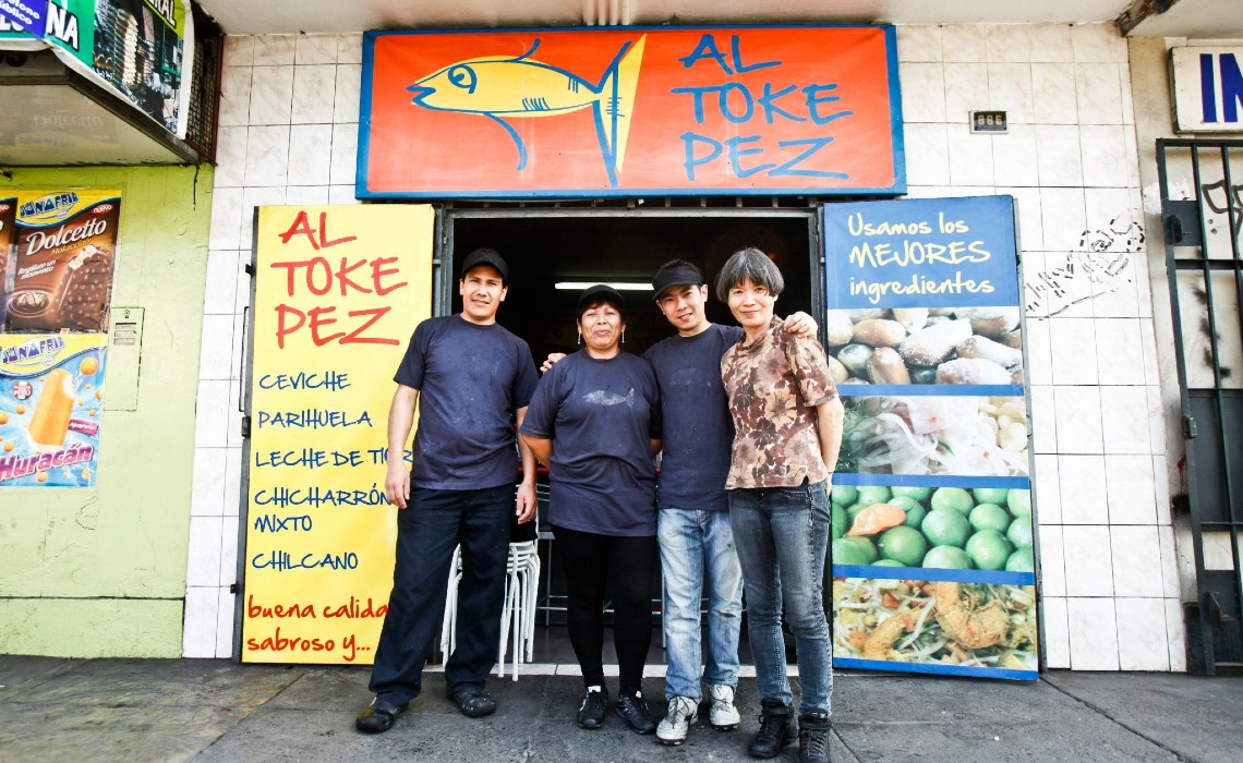 Al Toke Pez restaurant Peru