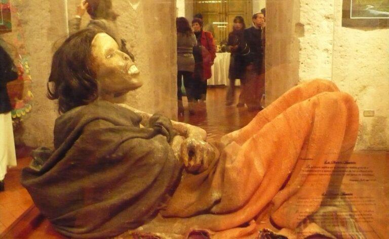 Mummy Juanita Ampato Arequipa