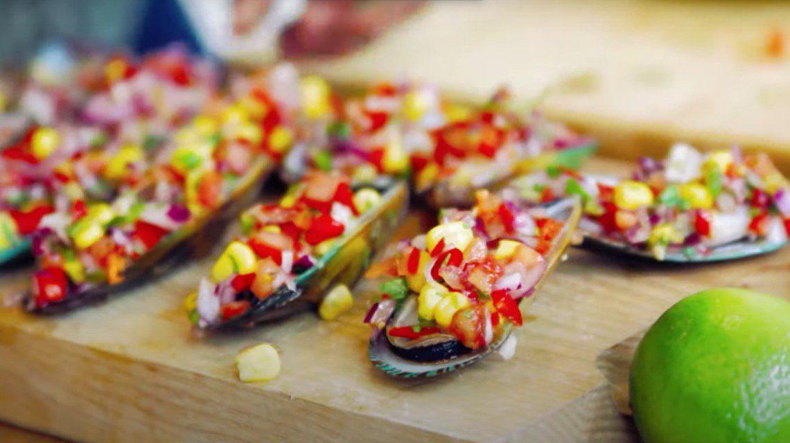 Callao mussels Peruvian recipe Martin Morales