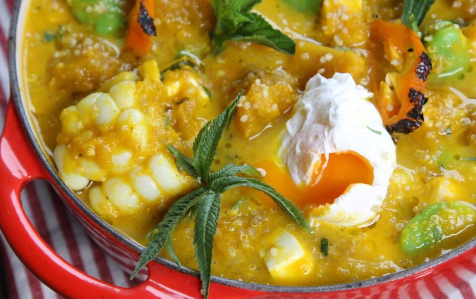 locro with loche Peruvian recipe