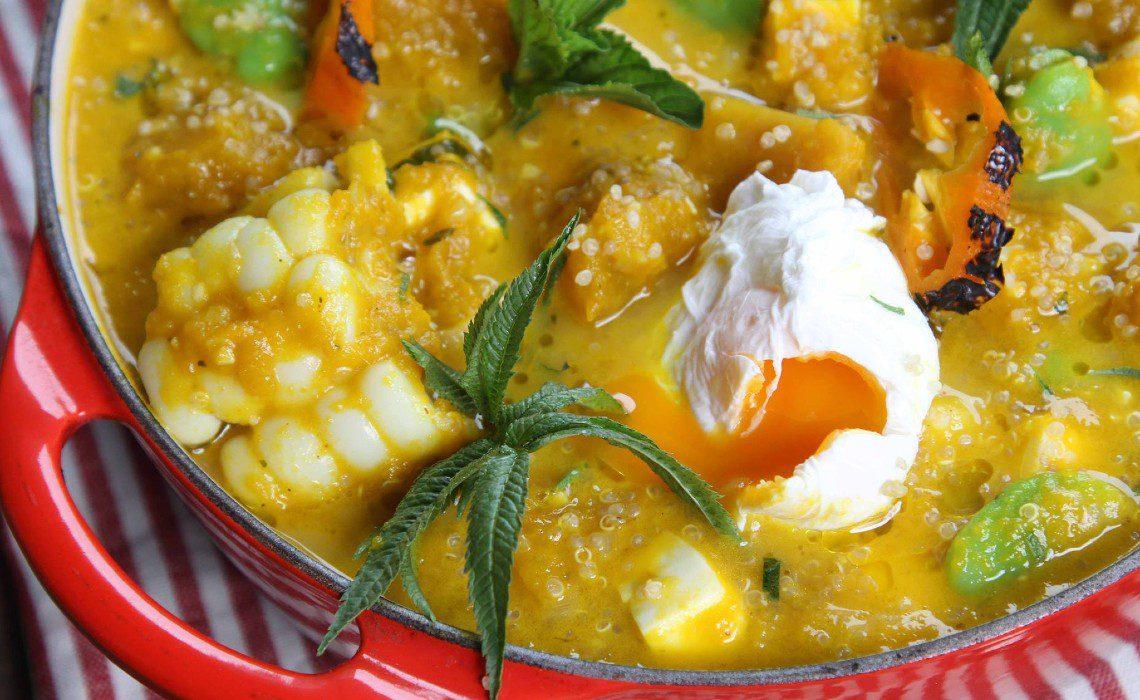 locro with loche Peruvian recipe