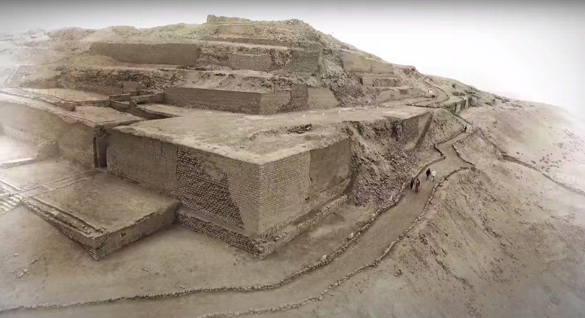 Video Huacas in Lima Peru