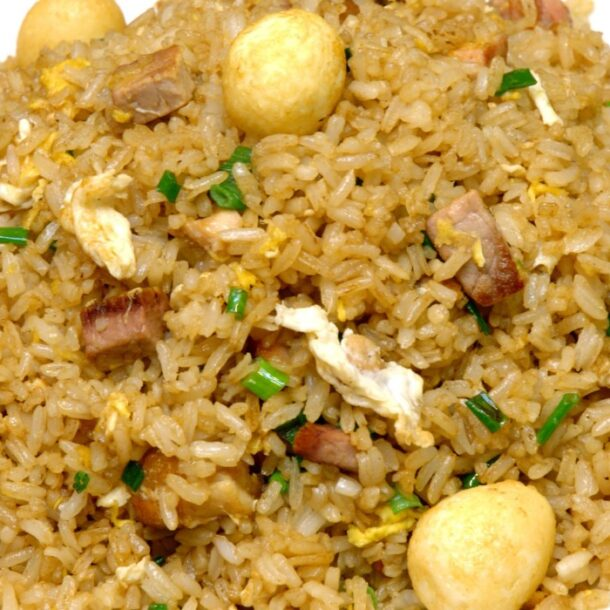 arroz chaufa recipe