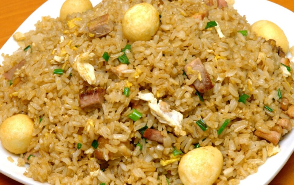 arroz chaufa recipe