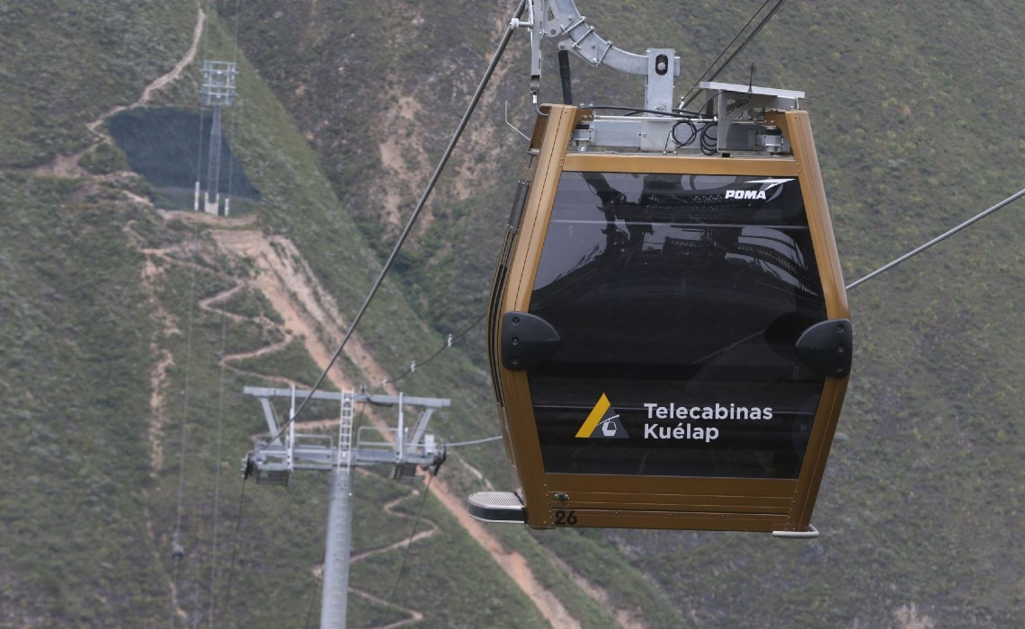 kuelap cable car