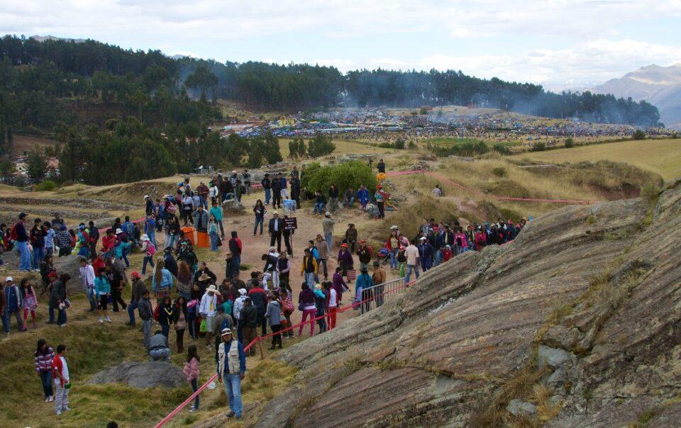 Inti Raymi tourists