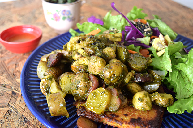 Restaurant review gea cocina saludable for Cocina saludable