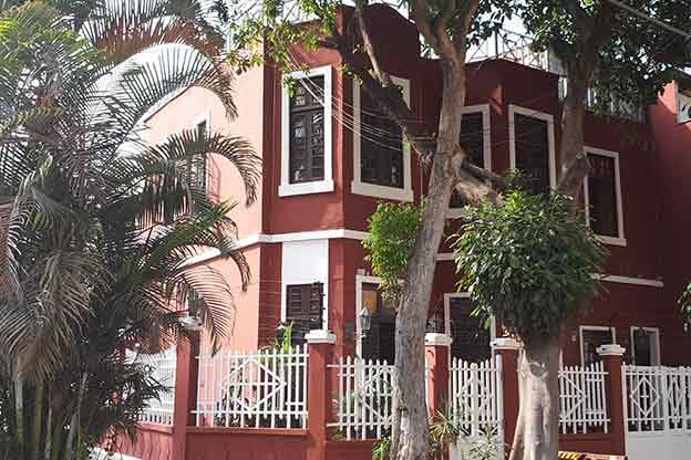 Colorful neighborhood of Barranco