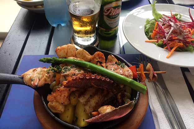 Plate of Mariscos (Sea food)