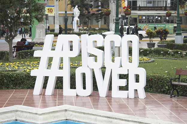 #PiscoLover, Main Square of Barranco