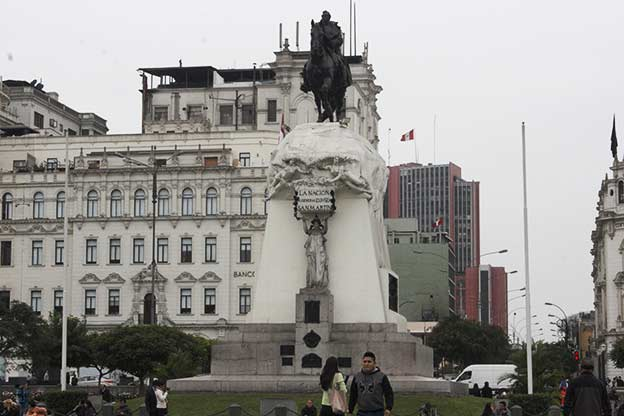 downtown lima