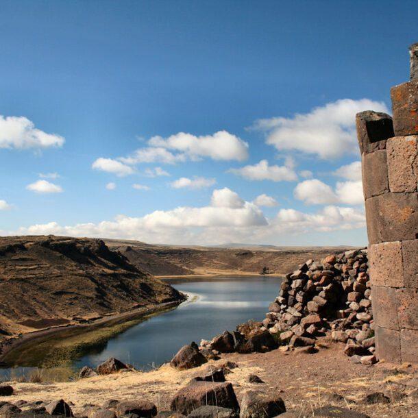 Sillustani Chullpas Puno Peru