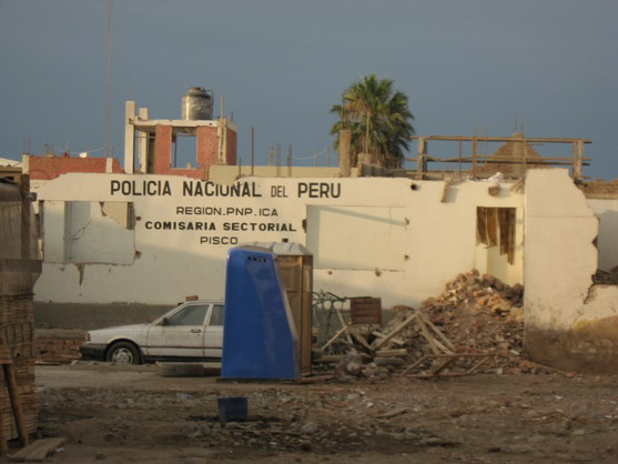 pisco after earthquake