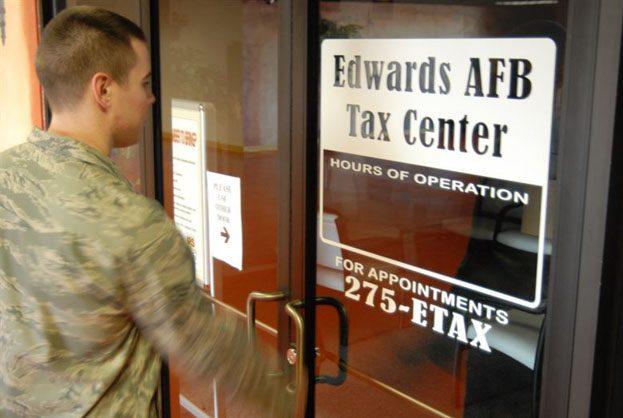 filing tax military
