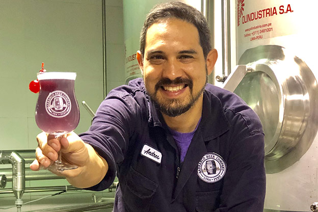 purple beer