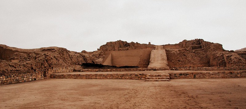 Archaeological site Pachacamac