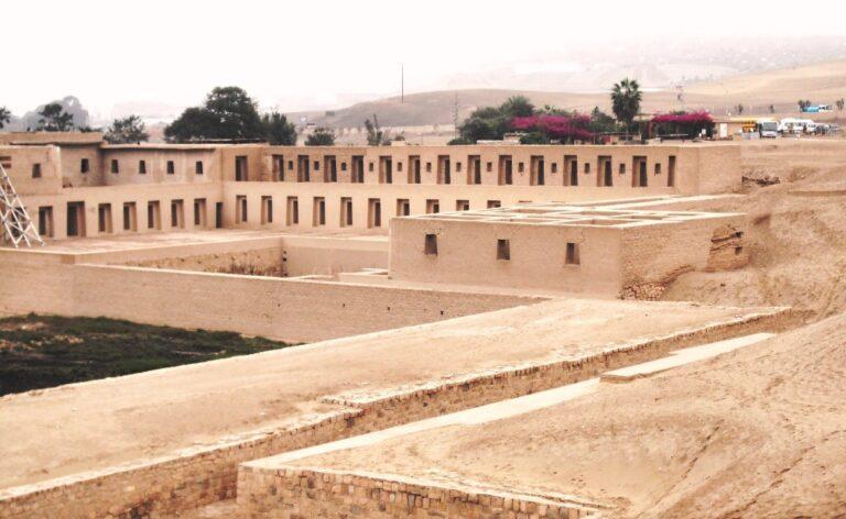 Pachacamac archaological site Peru