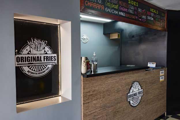 Original fries interior