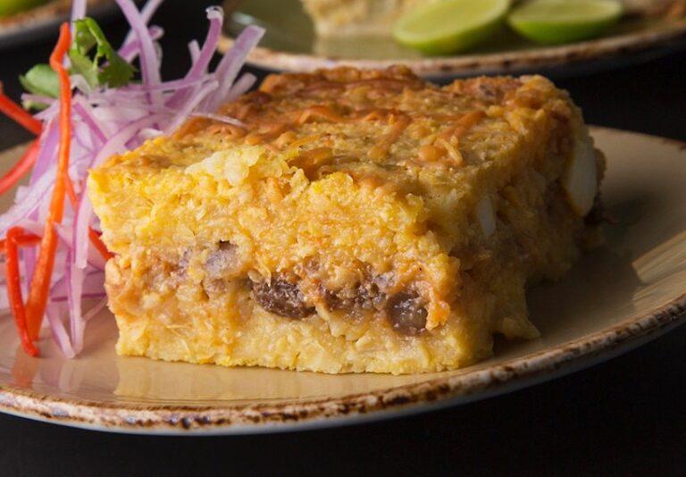 Peruvian pastel de choclo recipe