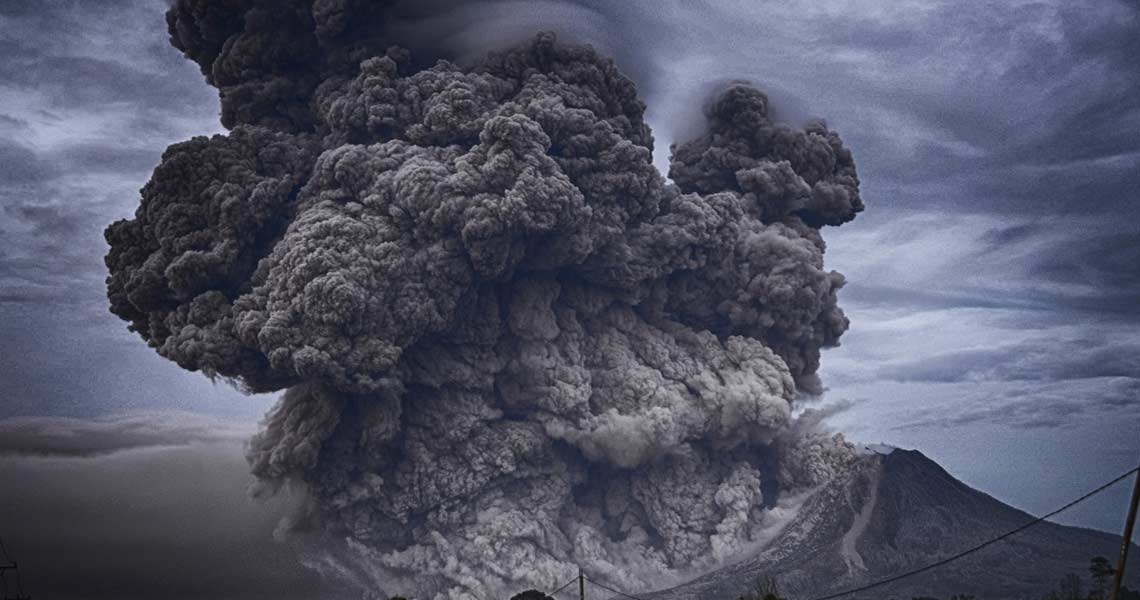 volcanic ashes