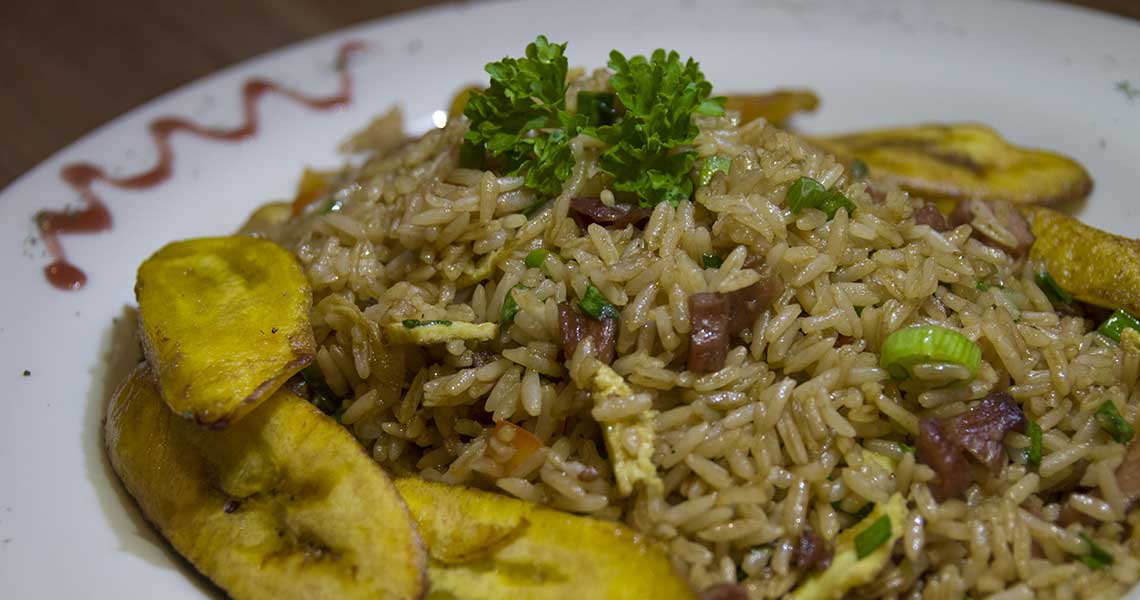 arroz chaufa