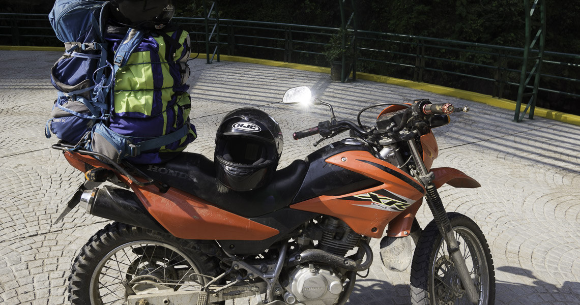 jungle motorcycle trip