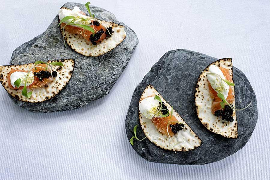 Raw salmon app