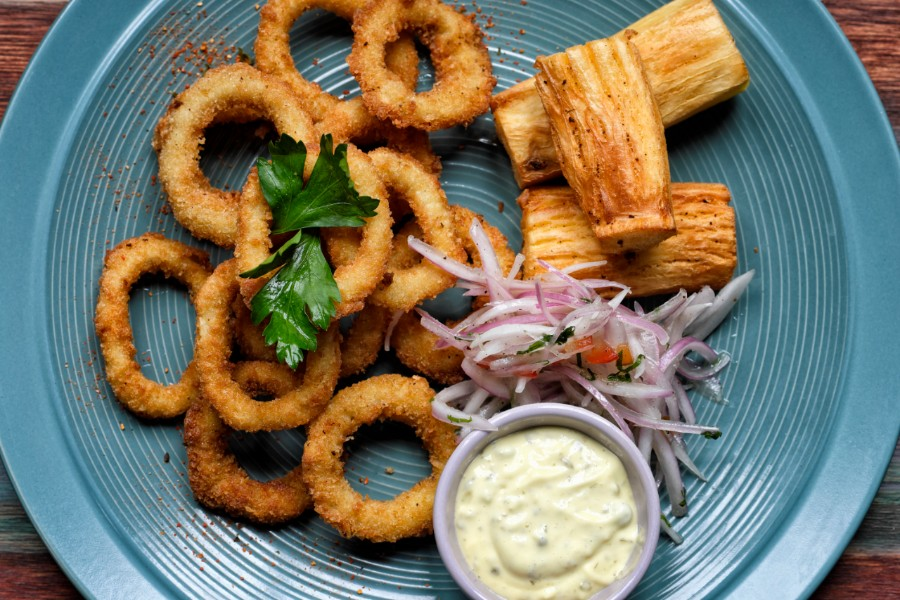 Petra fried calamari