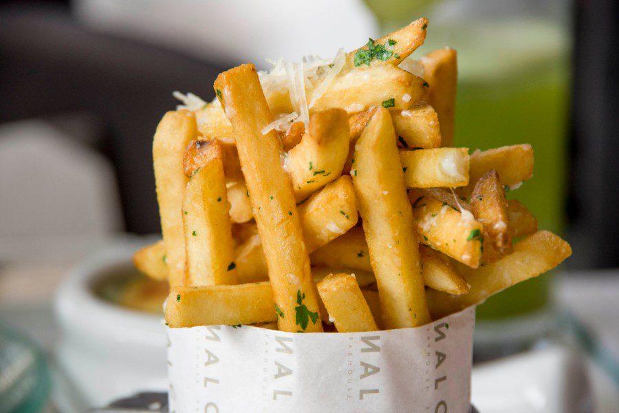 Truffled fries Carnal