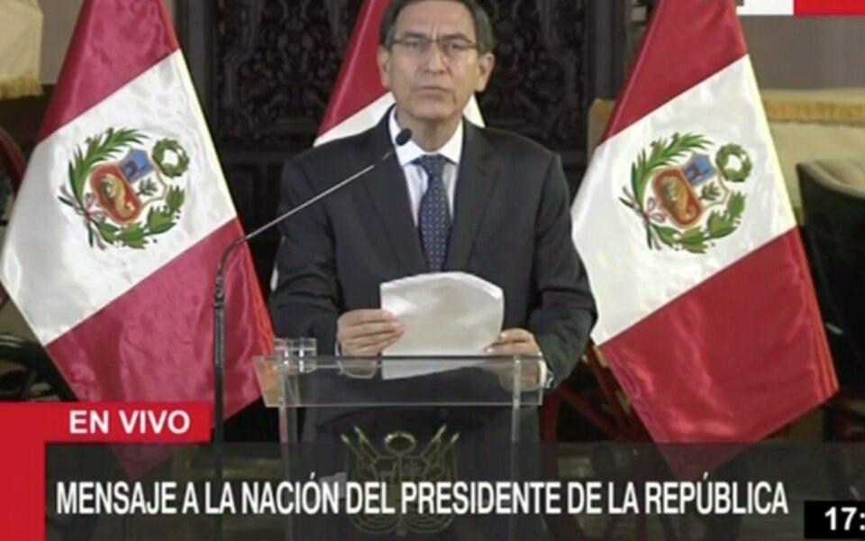 vizcarra president congress