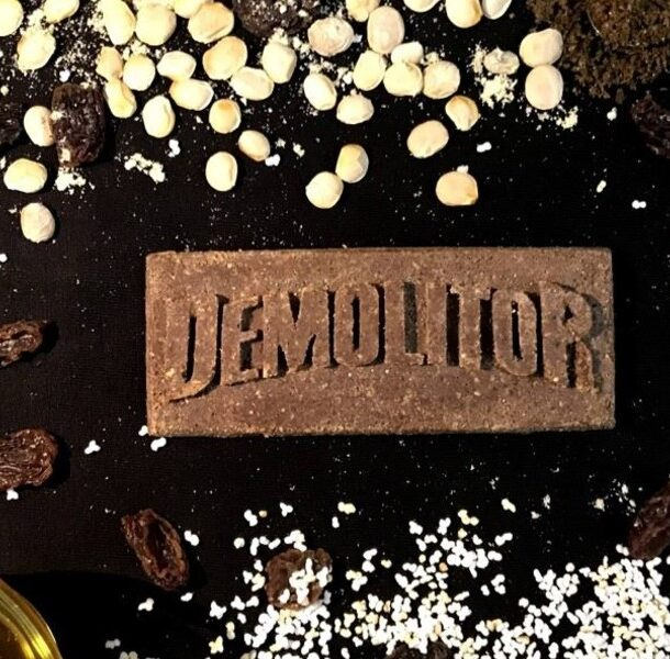 demolitor insect energy bar