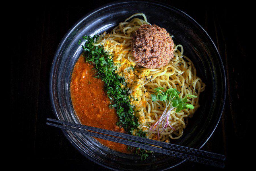 tokio ramen Dry Tomato Ramen (Sopa Seca Japonesa) (1)