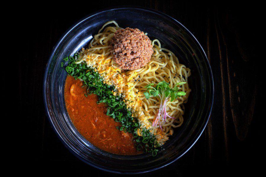 tokio ramen Dry Tomato Ramen (Sopa Seca Japonesa)