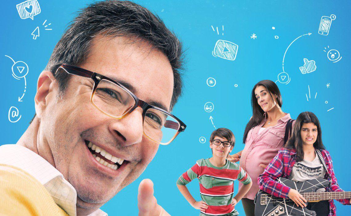 papa youtuber poster