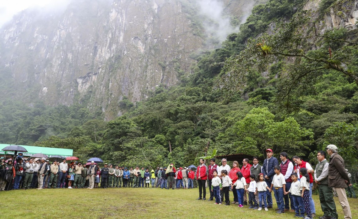 machu picchu one million trees