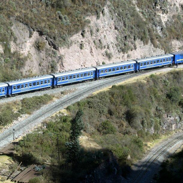 machu picchu trains