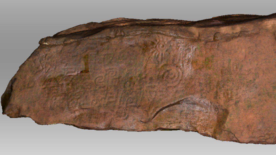 monolith engraving amazon peru