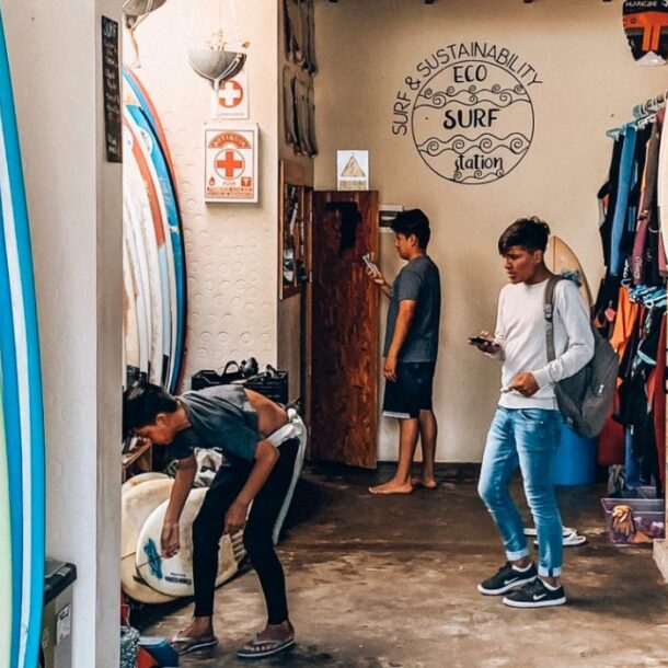 eco surf station