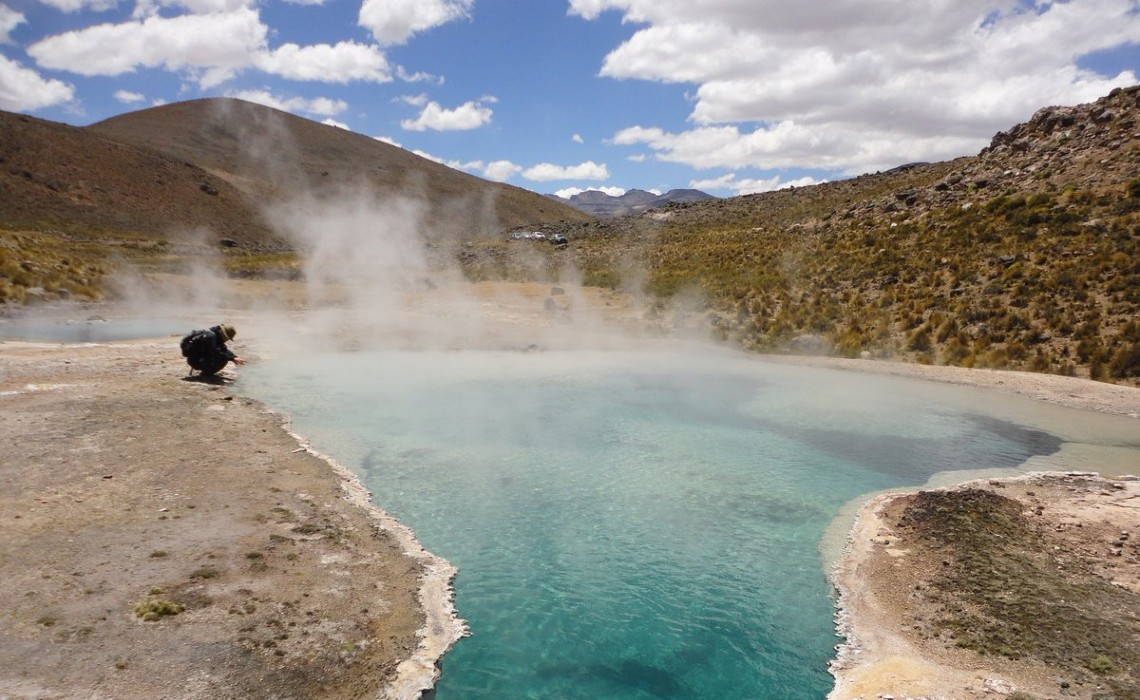 Candarave tacna geysers