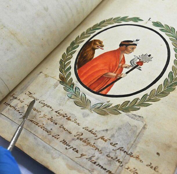 inca manuscript recovered