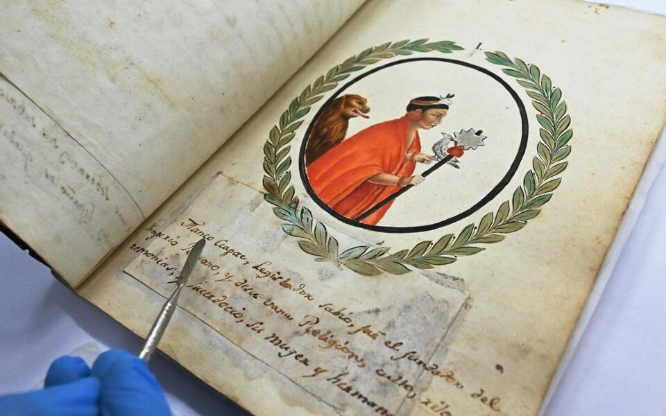 inca manuscript recovered