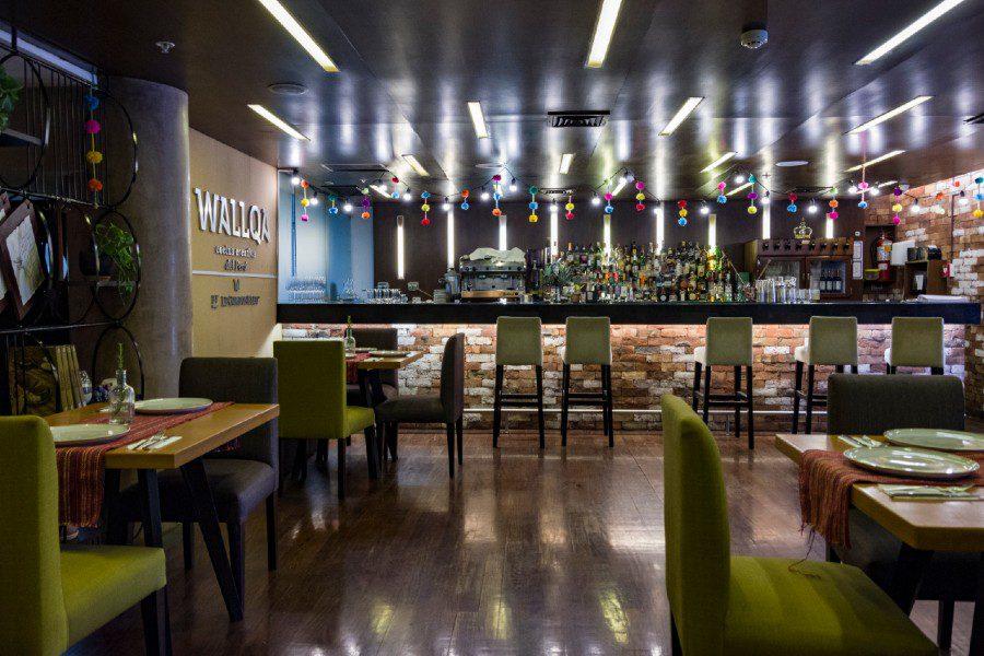 wallqa restaurant interior