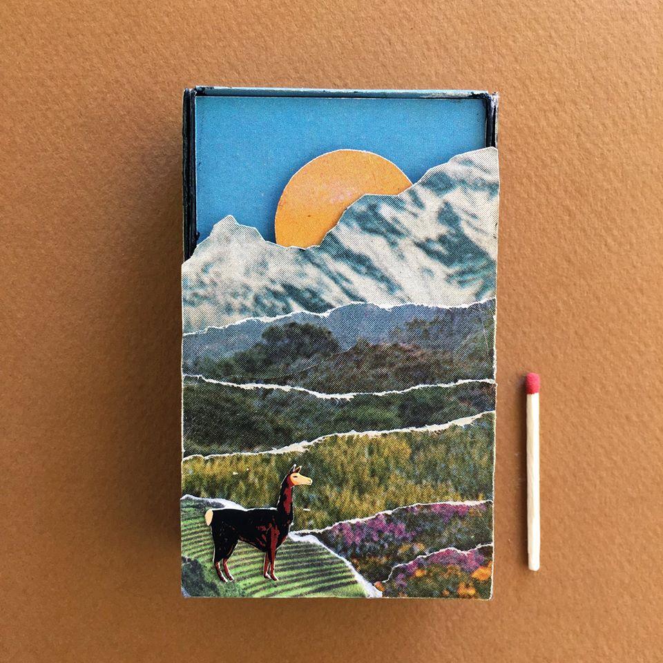 Llama box of matches